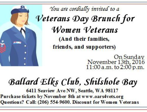 Annual Veterans Day Brunch – 2016