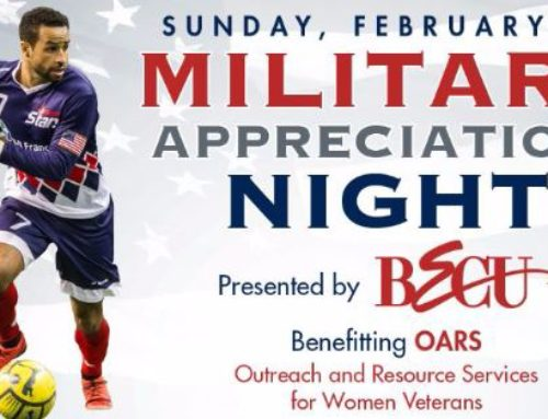 Tacoma Stars – Military Appreciation Night